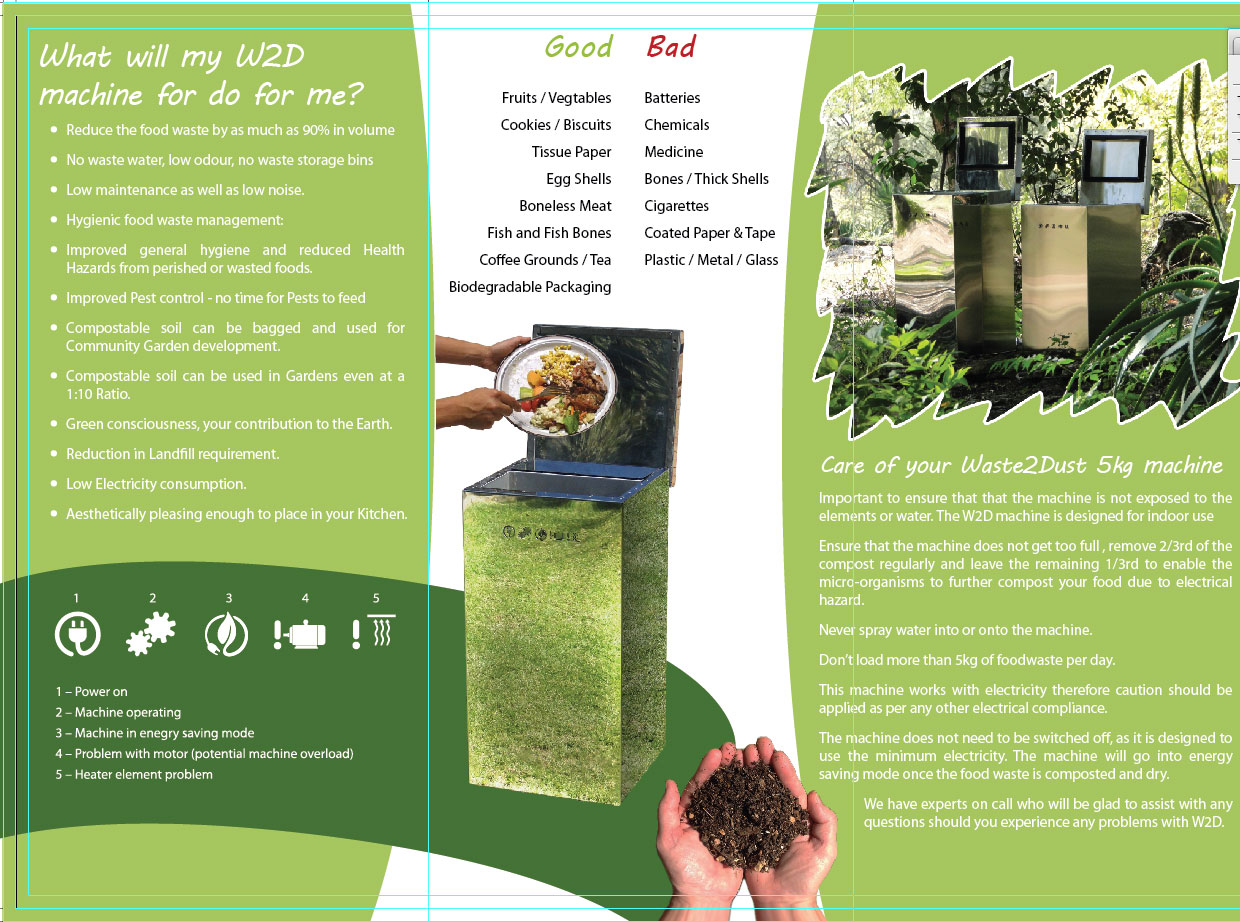Waste 2 Dust Composting System | B and C Agricultural Trading